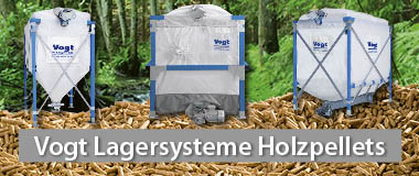 Vogt Holzpelletsilos